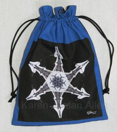 Nature Mandala Drawstring Bag  Ice and by Allenx2PhotoandCraft, $20.00