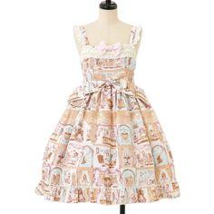 ☆ ·.. · ° ☆ ·.. · ° ☆ ·.. · ° ☆ ·.. · ° ☆ ·.. · ° ☆ BABY THE STARS SHINE BRIGHT Alice pattern jumper skirt http://www.wunderwelt.jp/products/detail7961.html ☆ ·.. · ° ☆ How to buy ☆ ·.. · ° ☆ http://www.wunderwelt.jp/user_data/shoppingguide-eng ☆ ·.. · ☆ Japanese Vintage Lolita clothing shop Wunderwelt ☆ ·.. · ☆ #sweetlolita