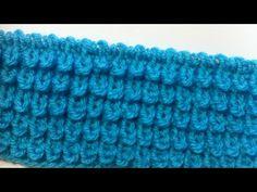 Обьемный рельефный узор Чешуйки, ежики, узелки. Knitting relief pattern scales, hedgehogs, nodules - YouTube