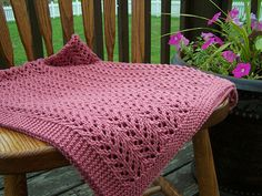 Baby blanket knit pattern