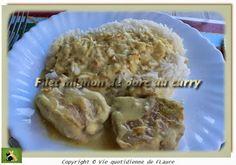 Filet mignon de porc au curry, Vie quotidienne de FLaure