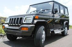 Mahindra Bolero - I bought and drove this while living in India - I LOVED it.  I wish they were available here in the USA!