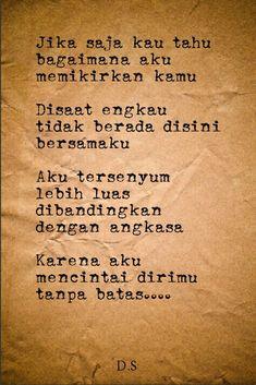 Puisi - puisi singkat - kumpulan puisi - poems - poetry - #indonesia