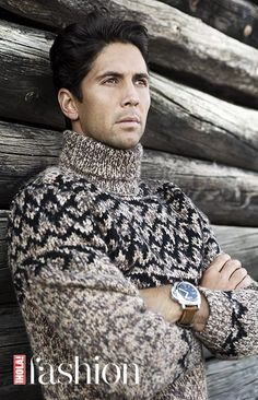 Fernando Verdasco, en ¡HOLA! Fashion