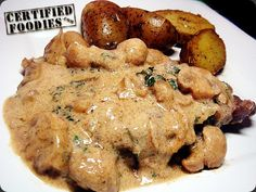 Steak Diane with Sauteed Potatoes in Rosemary - CertifiedFoodies.com