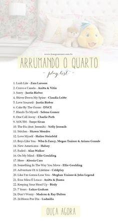 Uma playlist com 25 músicas para aqueles dias que você acorda animada para arrumar o quarto!