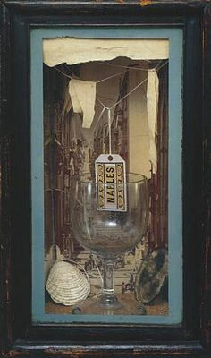 Naples Joseph Cornell © The Joseph and Robert Cornell Memorial Foundation/VAGA, NY/DACS, London Photo: Quicksilver Photographers, LLC. Pinned from Apollo magazine online. Collages, Collage Art, Joseph Cornell Boxes, Royal Academy Of Arts, Found Art, Assemblage Art, Box Art, Art Boxes, Famous Artists