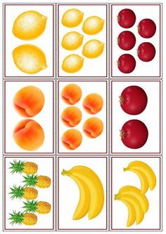 Preschool Centers, Preschool Learning Activities, Toddler Activities, Teaching Kids, Food Pyramid Kids, Construction Paper Crafts, Fruits Images, Math For Kids, Food Themes