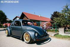 vw beetle german look nice Volkswagon Van, Volkswagen Golf Mk1, Vw T, Fusca German Look, Beetle Car, Vw Vintage, Mustang Cobra, Car Accessories For Girls, Surf