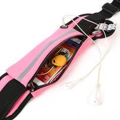 Nylon Waist Sports Bag