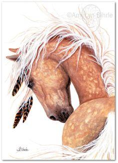 Majestic Horse Dappled Palomino Fine ArT Prints by AmyLynBihrle