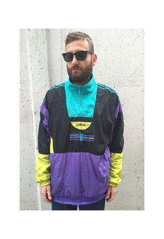 Vintage Adidas Jacket Sport Collection 90's   Greatest hits.   ASOS Marketplace