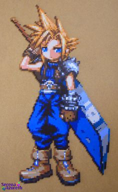Cloud ItadakiStreet BeadSprite by ~SerenaAzureth on deviantART
