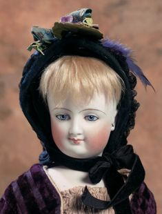 Lady Dolls of the 19th Century: 156 Doll Deposed by Leon Casimir Bru with Wooden Arms
