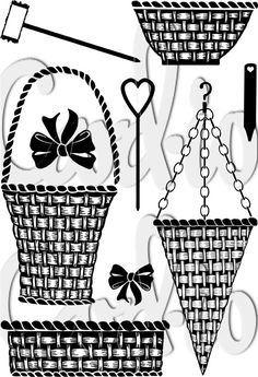 Basket and Bows