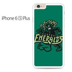 Eugene Emeralds Basebal Logo Green Iphone 6 Plus Iphone 6S Plus Case