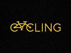 initial logo design by jordan brantley / branding / hand lettering 2 Logo, Typo Logo, Logo Branding, Branding Design, Clever Logo, Unique Logo, Creative Logo, Logo Velo, Bike Logo