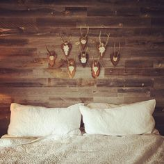 Artistic Pallet, Peel and Stick Wood Wall Design and Decorations - Rockindeco Faux Wood Wall, Stick On Wood Wall, Peel And Stick Wood, Wood Wall Design, Wood Wall Decor, Rustic Nursery Decor, Boys Room Decor, Wood Interior Walls, Wood Walls
