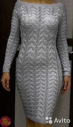 New Ideas Knitting Diy Sweater Ideas Knitting Designs, Easy Knitting Patterns, Cable Knit Sweater Dress, Sweater Dresses, Knitting For Beginners, Diy Dress, Baby Sweaters, Crochet Clothes, Dress Patterns