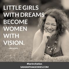 Little girls with dreams... #HerInvitation