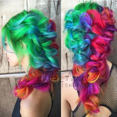 guy_tang -- My Fun color project on my girl hieucow and braided style by vividartistichairdesign using all pravana colors and mixtures!