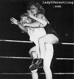 Vintage Women Wrestling Picture DVD Gallery 3