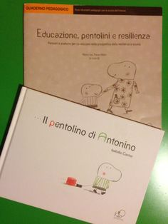 """""""...il pentolino di Antonino"""" un libro illustrato per bambini che mi è stato consigliato da una maestra/ mamma. Un libro assolutamente interessante che permette al bambino e al genitore di riflettere : sulle possibili difficoltà che i bambini possono incontrare (il pentolino che Antonino si trascina) e sulle possibili soluzioni che i bambini, da soli o con l'aiuto dell'adulto, possono trovare e acquisire. Quindi stiamo parlano di: Educazione, Diversità, Resilienza, Problem Solving, Ascolto."""