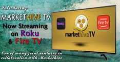 Introducing MARKETHIVE TV – Now LIVE on ROKU and AMAZON FIRE TV Amazon Fire Stick, Amazon Fire Tv, Prime Tv, My Purpose In Life, First Tv, Inbound Marketing, Apple Tv, Social Networks, Live