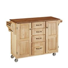 Special Offers - Home Styles 9100-1016G Create-a-Cart Natural Finish with Oak Top - In stock & Free Shipping. You can save more money! Check It (October 21 2016 at 08:53AM) >> http://storagecabinetusa.net/home-styles-9100-1016g-create-a-cart-natural-finish-with-oak-top/
