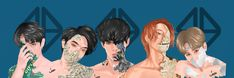 Korean Entertainment Companies, Boy Groups, Bb, Fan Art, Entertaining, Anime, Cartoon Movies, Anime Music, Animation