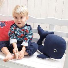 Freebook für einen süßen Wal zum Kuscheln oder als Kissen