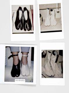 SS 1995 & 1996. Various Tabi Boots. Copyright Maison Martin Margiela MAISON MARTIN MARGIELA