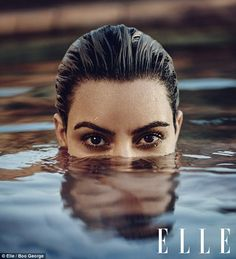 Kim Kardashian is a talented artist and very popular among fans. Kim Kardashian photo gallery with amazing pictures and wallpapers collection. Khloe Kardashian, Kim Kardashian Photoshoot, Robert Kardashian, Kardashian Kollection, Kim Kardashian Magazine, Pool Photography, Famous Photography, Water Shoot, Elle Magazine