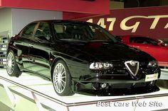 Alfa Romeo 156 GTAm at the 2002 Bologna Motor Show.