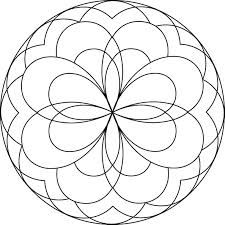 simple mandala pattern - Google Search