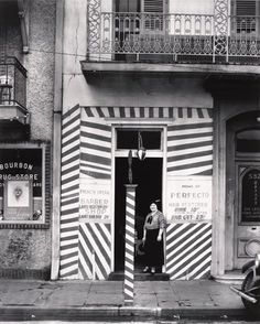 Walker Evans  American (Saint Louis, Missouri, 1903 - 1975, New Haven, Connecticut)  Barber Shop, New Orleans  1935, printed 1971  photograph | gelatin silver print