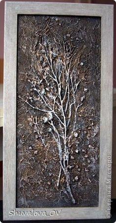 Картина панно рисунок Коллаж Коллаж в технике терра Материал природный фото 1