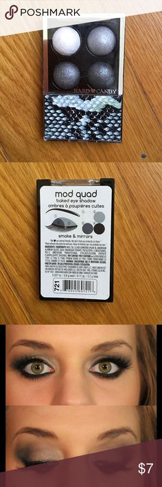 """Hard Candy Mod Quad baked Eyeshadow set Color is """"Smoke and Mirrors"""" Hard Candy Makeup Eyeshadow"""