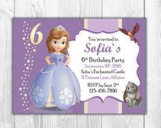 1 Banner de Princesa Sofía Birthday por RJpartycreations en Etsy