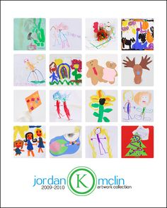 Kid artwork display by year Displaying Kids Artwork, Artwork Display, Diy For Kids, Crafts For Kids, Arts And Crafts, Cuadros Diy, Craft Projects, Projects To Try, Childrens Artwork