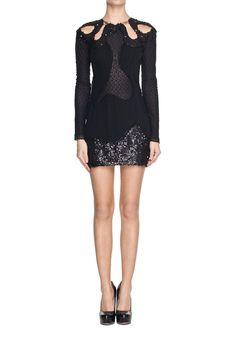 Czarna mini z cekinami   Ubrania \ Sukienki \ Mini Ubrania \ Sukienki \ Wieczorowe Ubrania \ Sukienki \ Koktajlowe SALE Ubrania \ Wszystkie ...