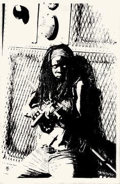 Michonne by Tim Bradstreet http://hcgart.com/products/michonne-by-tim-bradstreet