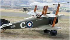 Sopwith Triplane in the colours of Canadian Ace Raymond Collishaw's Black Maria