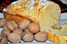 Gastro Andalusi ♥ Recetas ilustradas: Bizcocho esponjoso de nueces y manzanas
