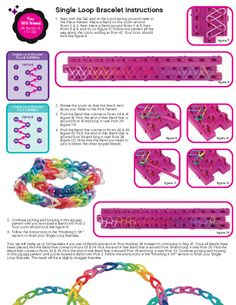 Cra-Z-Loom Instructions - Page 3