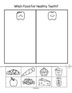 Dental Worksheets for Kindergarten. 20 Dental Worksheets for Kindergarten. Ultimate List Of Dental Health for the Classroom Health Activities, Sorting Activities, Kindergarten Worksheets, Worksheets For Kids, Printable Worksheets, Preschool Crafts, Healthy Food Activities For Preschool, Space Activities, Vocabulary Worksheets
