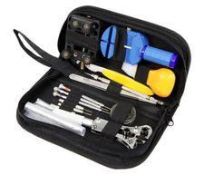 benair watch repair kit deluxe tool set high quality
