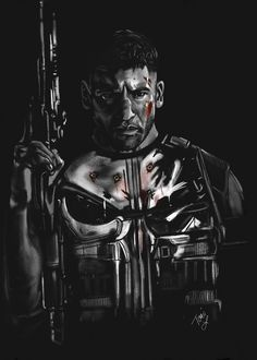 Frank Castle Aka The Punisher Punisher Marvel, Marvel Dc, Marvel Comics, Bd Comics, Captain Marvel, Netflix Marvel, Marvel Room, Mundo Marvel, Anime Comics