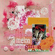 Melon Girl by Riikka Kovasin