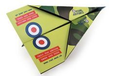 RAF Concept Mailer & Micro Site by 90degrees Design and Marketing, via Behance